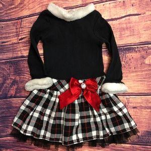 Toddler Girls Holiday Dress *SALE ITEM